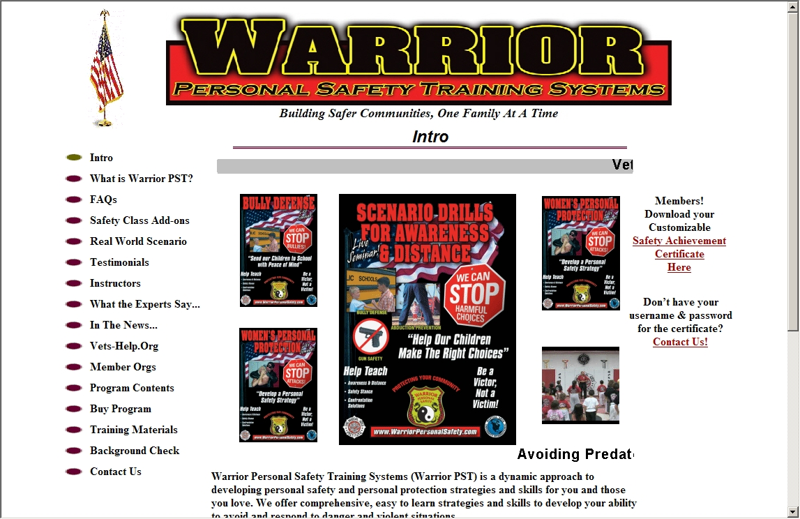 Warrior Personal Safety